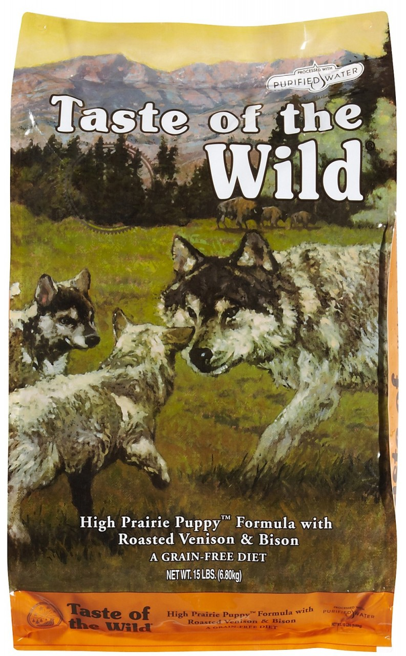 Taste of the Wild Puppy High Prairie